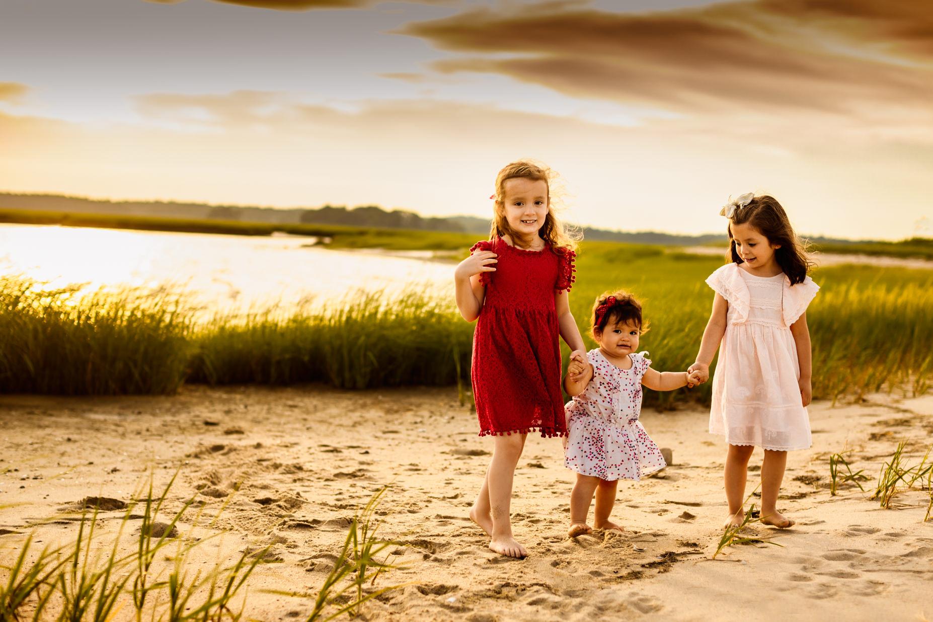 Boston Beach Family Session - Fine Art -12
