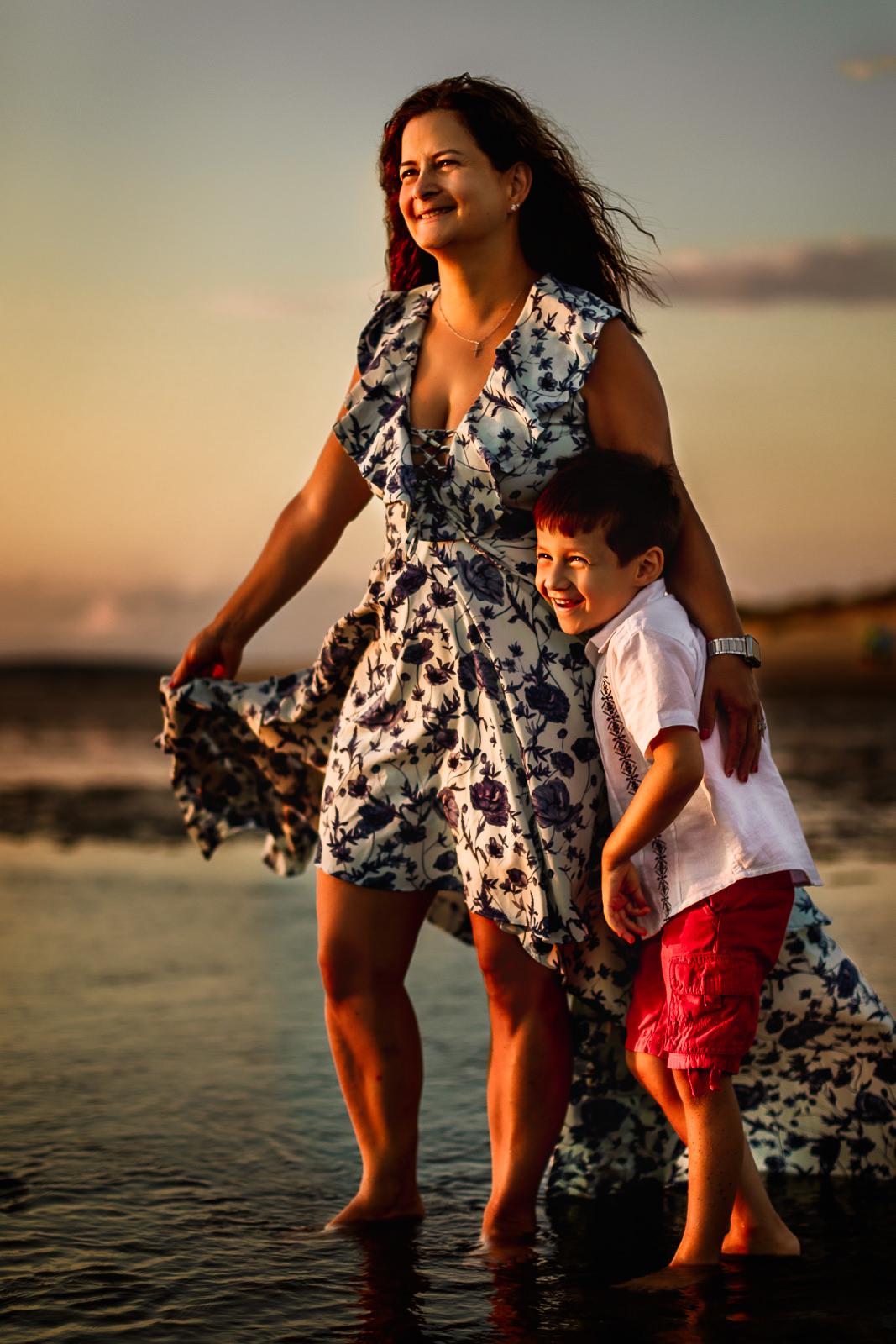 Cape Cod Beach Family Photo Session -21