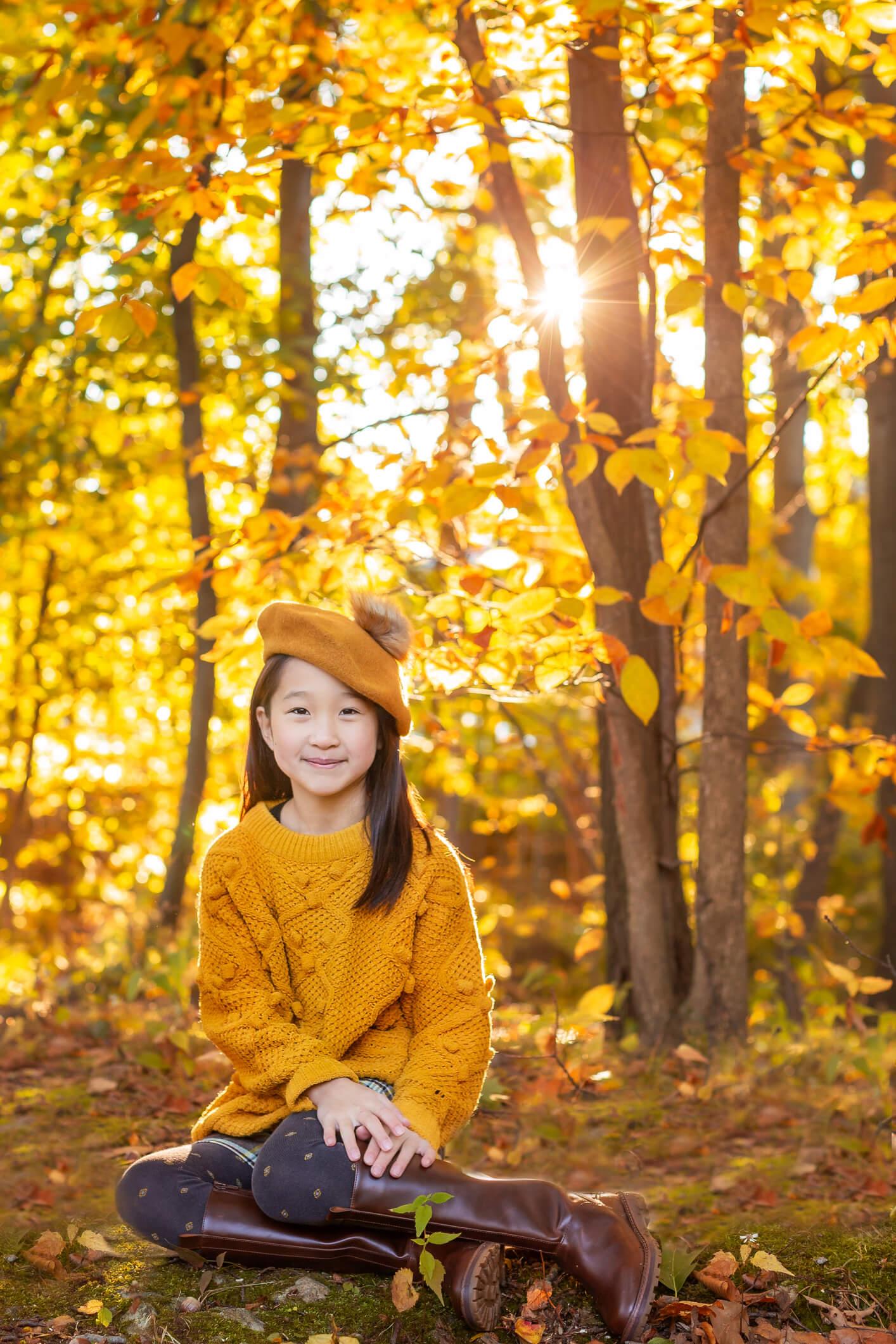 Classic Fine Art Kids Portrait, Family Photographer Boston 2