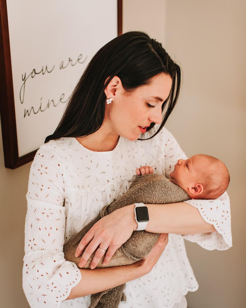 Fine Art In Home Newborn Session - Boston-25