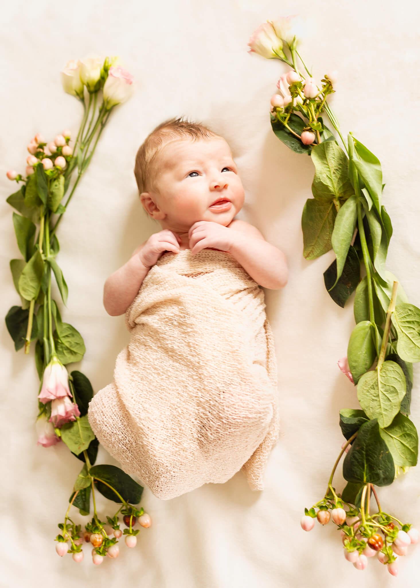In Home Newborn Fine Art Portraits, Family Photographer Boston 12