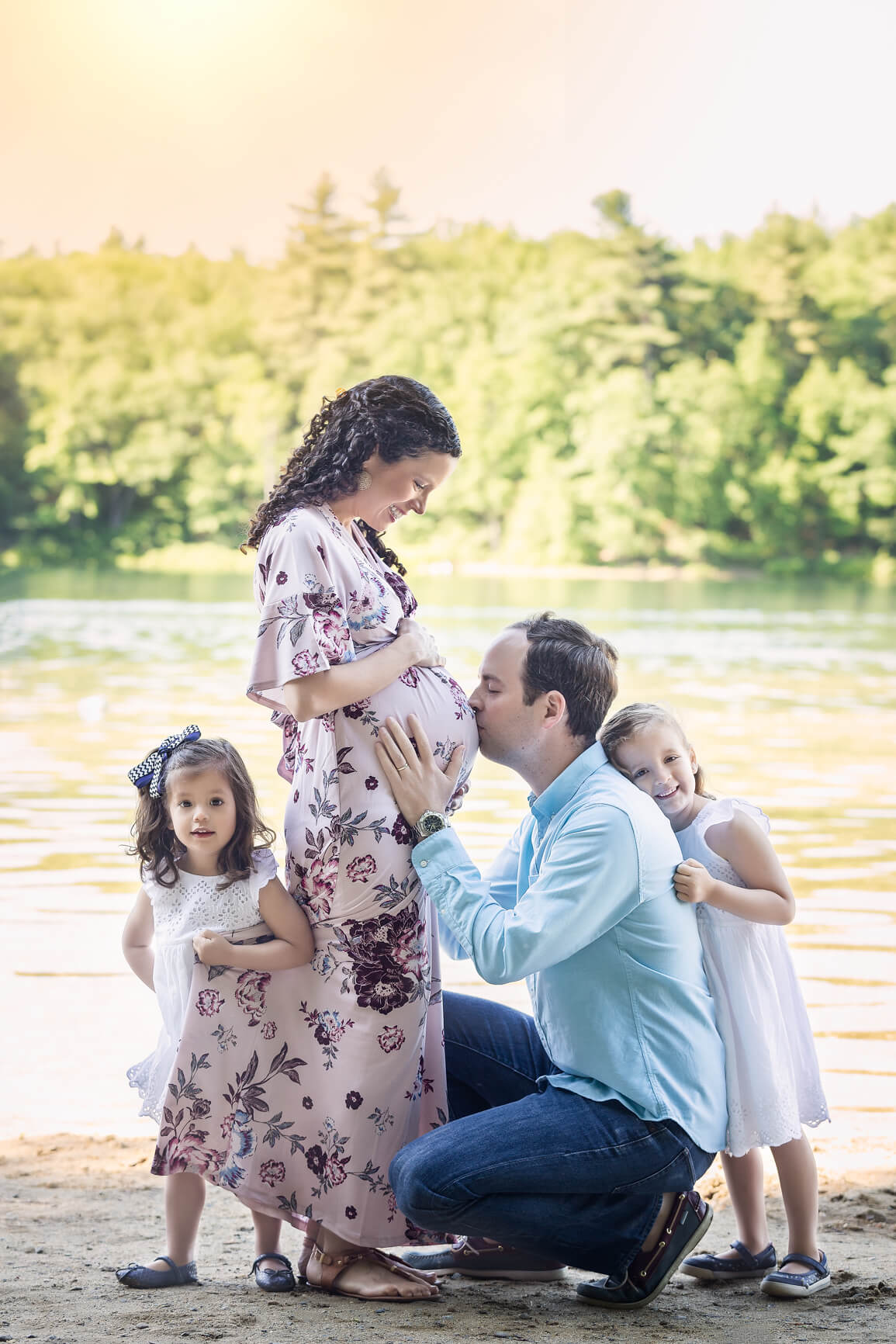 Pregnancy Maternity Fine Art Portraits, Family Photographer Boston 6