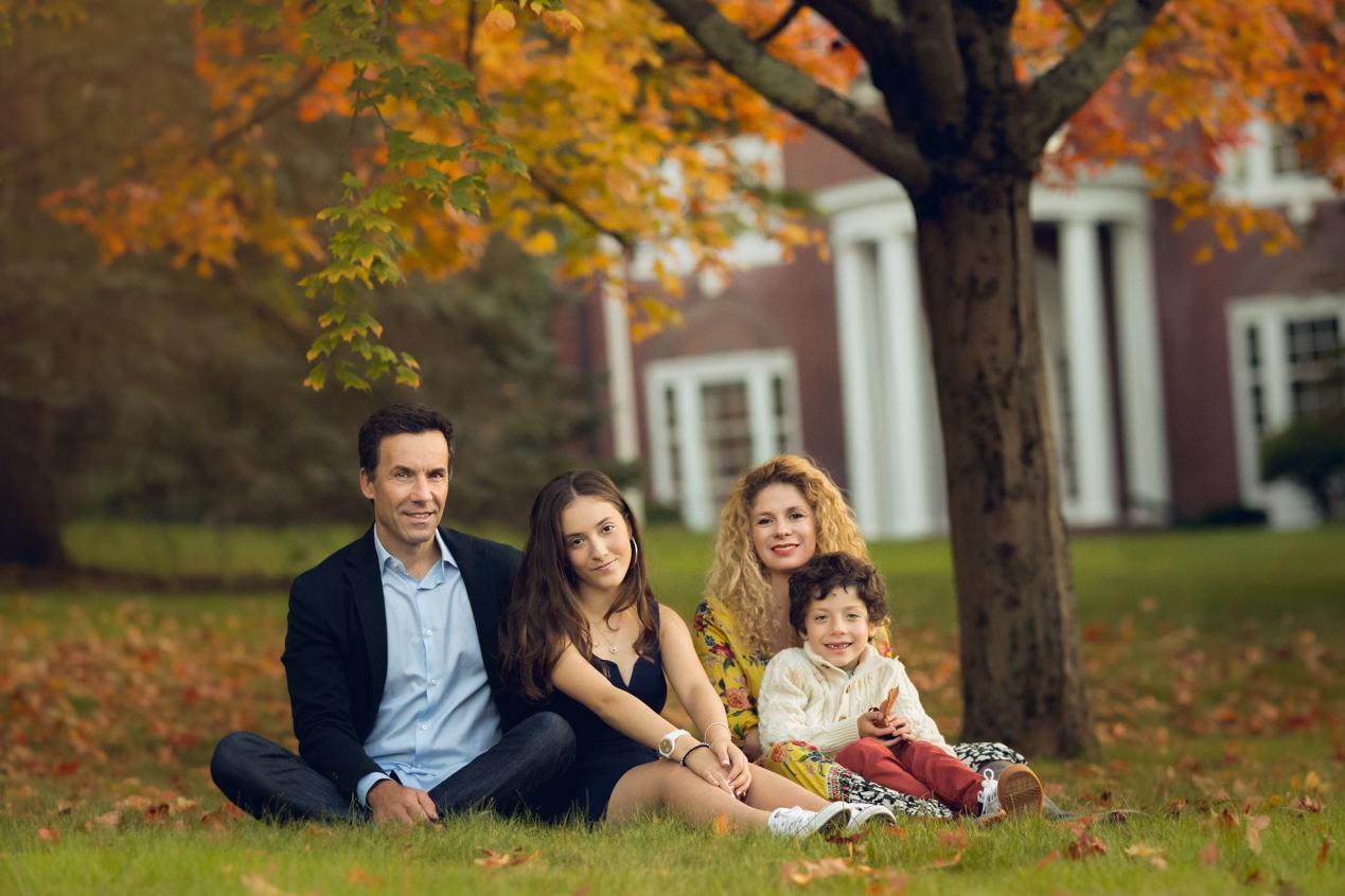 family photography Fall boston